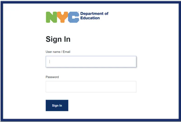 NYC DOE Email